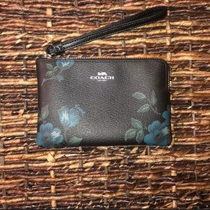 Price **IS NOT** Firm Coach Floral Wristlet